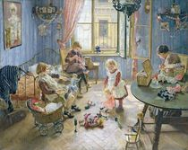 The Nursery by Fritz von Uhde