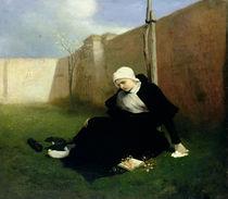 The Nun in the Cloister Garden von Gabriel Max