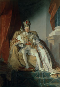 Emperor Francis I of Austria  von Friedrich von Amerling