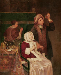 The Doctor's Visit  von Frans van Mieris