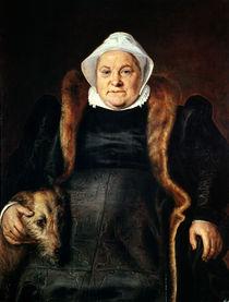 Portrait of an Elderly Woman or von Frans Floris