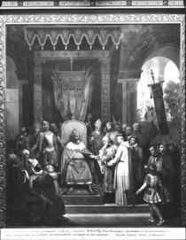 Emperor Charlemagne  by Jean Victor Schnetz