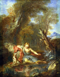 Narcissus by Francois Lemoyne