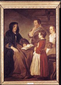 The Schoolmistress  von Jean Baptiste Marie Pierre
