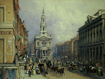 St. Mary le Strand by George Sidney Shepherd