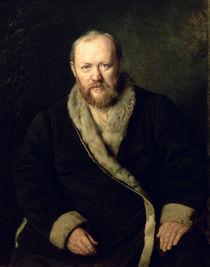 Portrait of Aleksandr Ostrovsky  von Vasili Grigorevich Perov