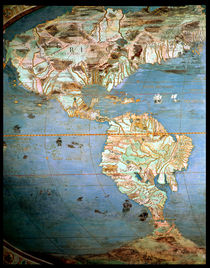 Map of North and South America by Antonio Giovanni de Varese