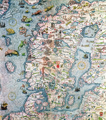 Scandinavia by Antonio Lafreri
