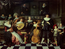 Family Making Music  von Jan Miense Molenaer