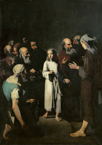 Jesus with the Doctors  von Auguste Theodule Ribot