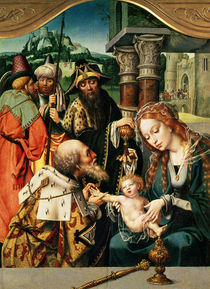 The Adoration of the Magi  von Jan Gossaert