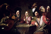 Meeting of Drinkers  von Bartolomeo Manfredi