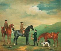The 4th Lord Craven coursing at Ashdown Park  von James Seymour