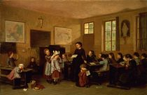 The naughty school children  by Theophile Emmanuel Duverger