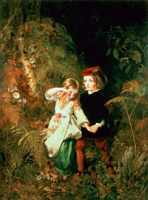 Children in the Wood  by James Sant