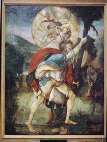 St. Christopher  von Master of Messkirch