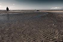 Wattenmeer an der Nordsee von Markus Hartmann