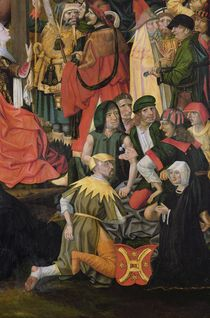 The Soldiers Drawing Lots for Christ's Clothes by Master of Hamburg