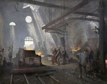 A Forge by Fernand Cormon
