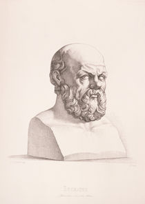Portrait of Socrates  by C.C Perkins