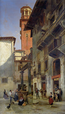 Via Mazzanti by Jacques Carabain