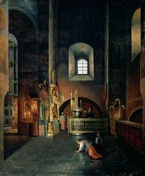 In a Church von Stanislav Joulianovitch Joukovski