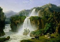 The Waterfall at Tivoli von Jacob-Philippe Hackert