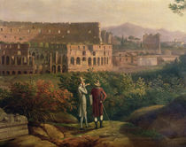 Johann Wolfgang von Goethe  by Jacob-Philippe Hackert