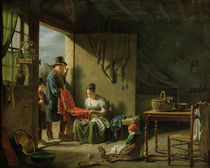 The Pedlar by Martin Drolling