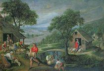Parable of the Good Shepherd von Marten van Valckenborch
