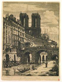 The Little Bridge von Charles Meryon