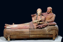 Sarcophagus of a married couple von Etruscan