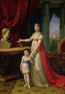 Elisa Bonaparte  von Pietro Benvenuti