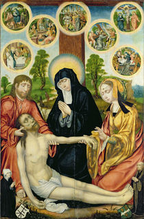 The Lamentation of the Dead Christ von Hamburg Master