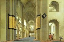 Interior of the Marienkirche in Utrecht von Pieter Jansz Saenredam