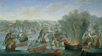 Naval Battle with the Spanish Fleet  von Pierre Puget