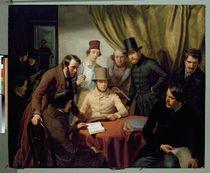 The Members of the Hamburg Artist's Club von Gunther Gensler