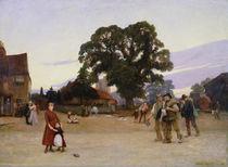 Our Village by Sir Hubert von Herkomer
