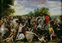 The Victory of Tullus Hostilius  von Guiseppe Cesari