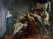 The Assassination of Marat von Jean Joseph Weerts