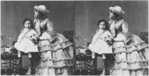 Empress Eugenie and Prince Eugene Louis Napoleon Bonaparte by Andre Adolphe Eugene Disderi