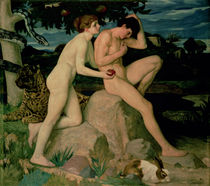Adam and Eve  von William Strang