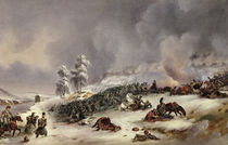 Battle of Krasnoi by Jean Antoine Simeon Fort
