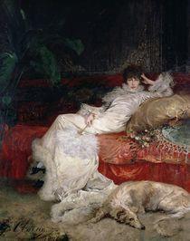 Sarah Bernhardt  von Georges Clairin