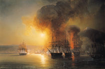 Capture of the Fort of Saint-Jean-d'Ulloa on 23rd November 1838 by Jean Antoine Theodore Gudin
