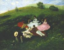 Picnic in May  by Pal Szinyei Merse