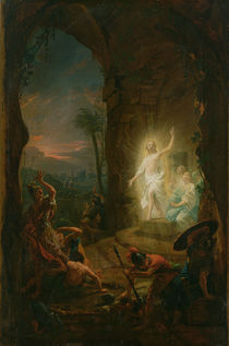 The Resurrection by Johann Heinrich Tischbein