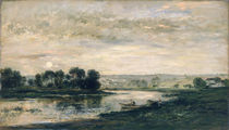 Evening on the Oise by Charles Francois Daubigny
