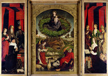 The Triptych of Moses and the Burning Bush von Nicolas Froment
