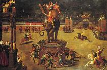 The Elephant Carousel  von Antoine Caron